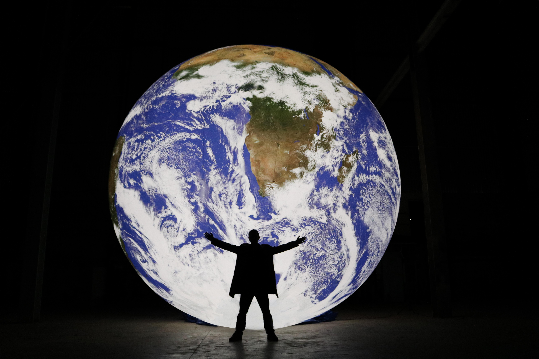 Gaia, by British installation artist, Luke Jerram.